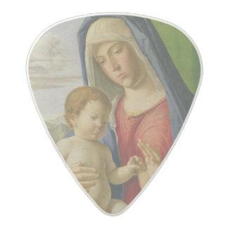 マドンナおよび子供、1490s アセタール ギターピック