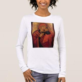 マドンナおよび子供、c.1650 (パネル) 長袖Tシャツ