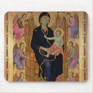 マドンナおよび子供(Rucellaiマドンナ) 1285年(テンペラ マウスパッド