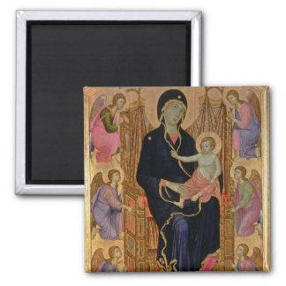 マドンナおよび子供(Rucellaiマドンナ) 1285年(テンペラ マグネット