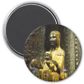 マドンナ黒いモンセラートの磁石 マグネット