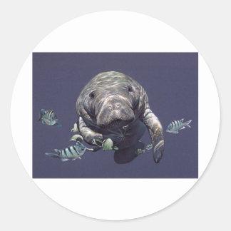 マナティーの水中世界 ラウンドシール