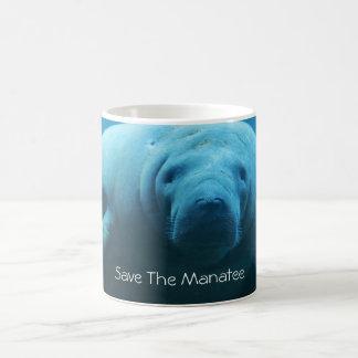 マナティーを救って下さい コーヒーマグカップ