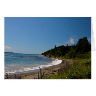 マナンの壮大な島、ニューブランズウィック、カナダ カード