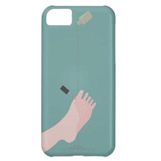 マニキュア iPhone 5C ケース