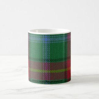 マニトバのタータンチェックのマグ コーヒーマグカップ