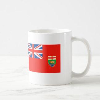 マニトバの旗 コーヒーマグカップ