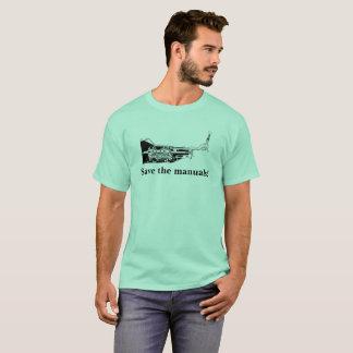 マニュアルを救って下さい! Tシャツ