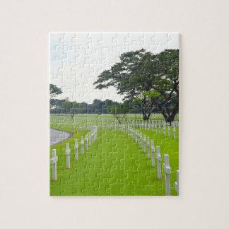 マニラのアメリカ人の墓地 ジグソーパズル