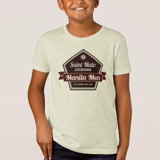 マニラの人のバッジのはっきりしたな星の子供のギア Tシャツ