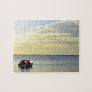 マニラ湾の日没 ジグソーパズル