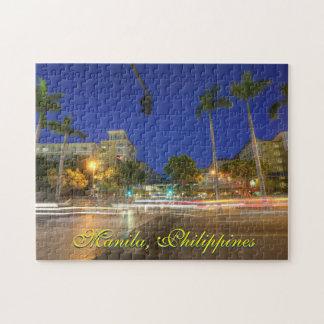 マニラ、フィリピンのパズル ジグソーパズル