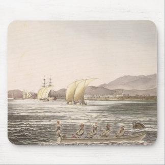 マニラ、フィリピン1826年の眺め マウスパッド