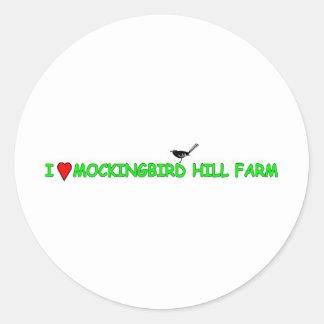 マネシツグミの丘の農場 ラウンドシール