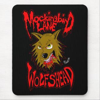 """マネシツグミの車線の""""Wolfshead""""のマウスパッド マウスパッド"""