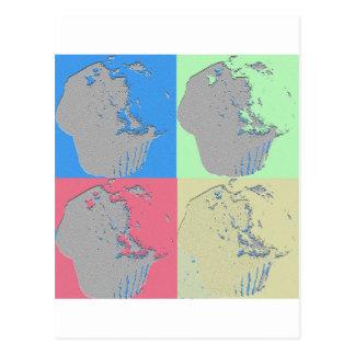 マフィンの芸術 ポストカード