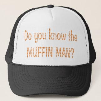 マフィン人か。 キャップ