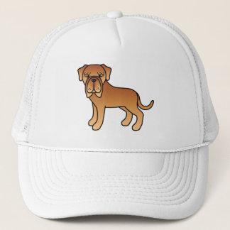 マホガニーのコート色のNeapolitanマスティフ犬 キャップ