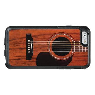 マホガニーの上のアコースティックギター オッターボックスiPhone 6/6Sケース
