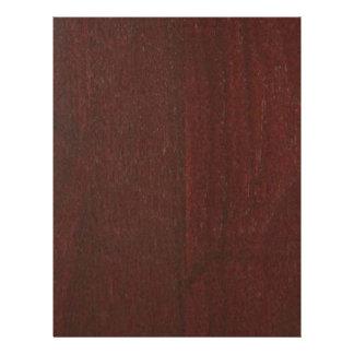 マホガニーの木製の終わりの買物のブランクBlancheは文字を加えます レターヘッド