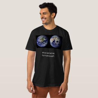 ママのためのEarth愛を/示して下さい Tシャツ