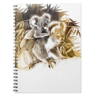 ママのコアラの小さいノート ノートブック