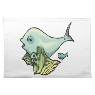 ママの魚 ランチョンマット