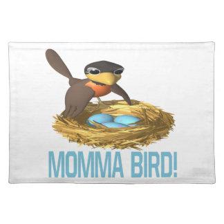 ママの鳥6 ランチョンマット