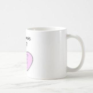 ママを調理している何が コーヒーマグカップ