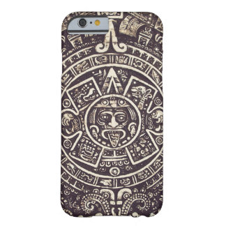 マヤのカレンダーの芸術のiPhone6ケース Barely There iPhone 6 ケース