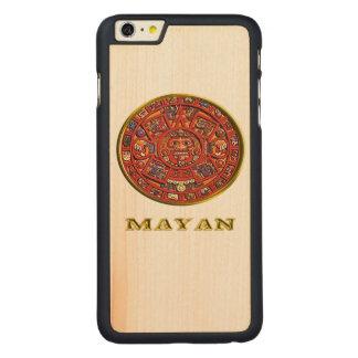 マヤのカレンダープロダクト CarvedメープルiPhone 6 PLUS スリムケース