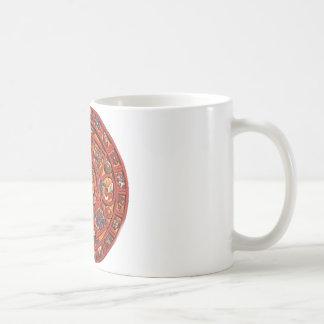マヤのカレンダー コーヒーマグカップ