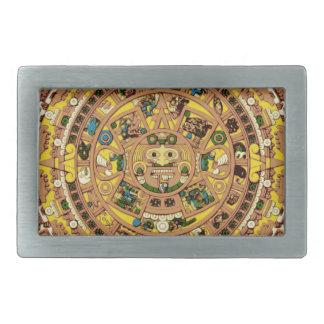 マヤのカレンダー 長方形ベルトバックル