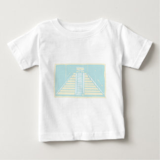 マヤのピラミッドのコーデックス ベビーTシャツ