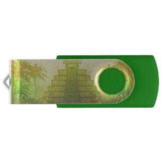 マヤのピラミッド、メキシコUSBのフラッシュドライブ USBフラッシュドライブ