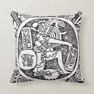 マヤの円、メキシコヒエログリフ(マヤ) クッション