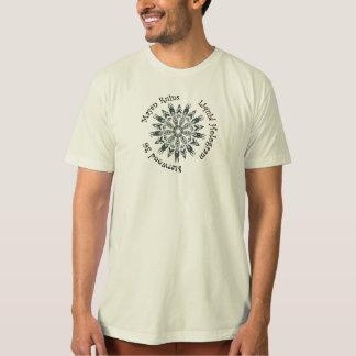 マヤの台なしの液体のホログラムのTシャツ Tシャツ