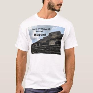 マヤの太陽神の寺院; ベリセ Tシャツ