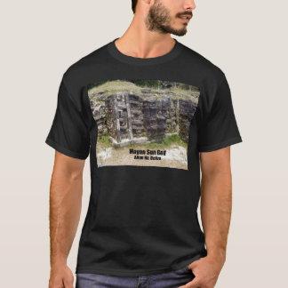 マヤの太陽神- Altun Ha、ベリセ Tシャツ
