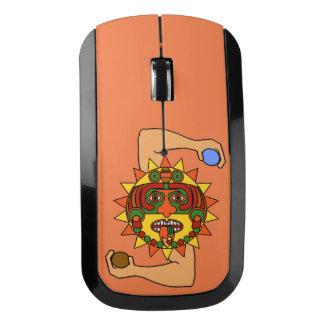 マヤの太陽神- Kinich Ahua ワイヤレスマウス
