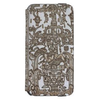マヤの定規Pakal金 Incipio Watson™ iPhone 6 財布ケース