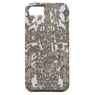 マヤの定規Pakal金 iPhone SE/5/5s ケース
