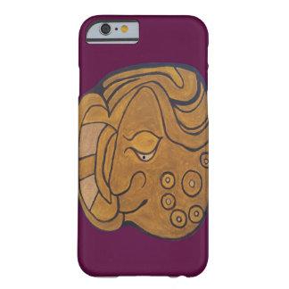 マヤの微笑の円形浮彫り BARELY THERE iPhone 6 ケース
