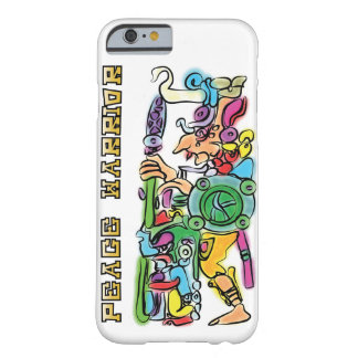 マヤの戦士の水彩画の絵画 BARELY THERE iPhone 6 ケース