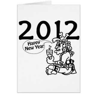 マヤの新年2012年 カード