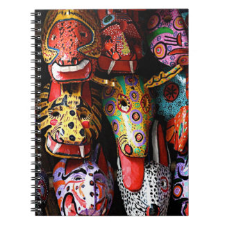 マヤの木のマスクのノート ノートブック