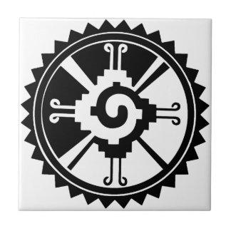 マヤの神の記号Hunab Ku タイル