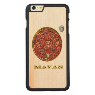 マヤの芸術 CarvedメープルiPhone 6 PLUS スリムケース