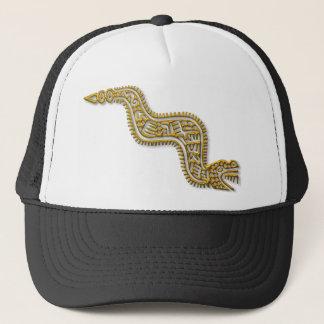 マヤの蛇金ゴールド キャップ