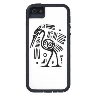 マヤの鳥のデザインのiPhone 5の場合 iPhone SE/5/5s ケース